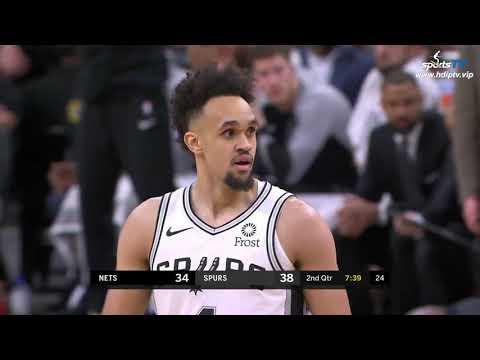 Brooklyn Nets vs San Antonio Spurs NBA 2018-19 Highlights 1080P (2019-1-31)