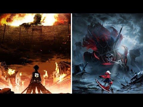 Top 10 Anime Similar To Attack On Titan Youtube
