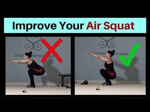 How To Improve your AIR SQUAT