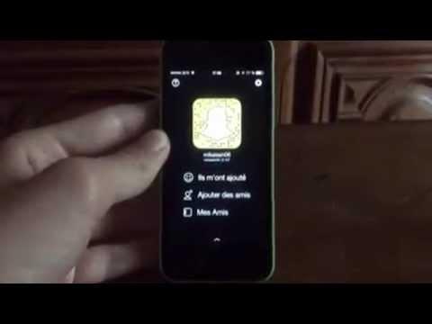 Screen sur SnapChat sans que ça se voit