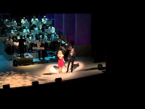 History Is Made At Night - Megan Hilty & Will Chase BOMBSHELL (The Concert) June 8th 2015