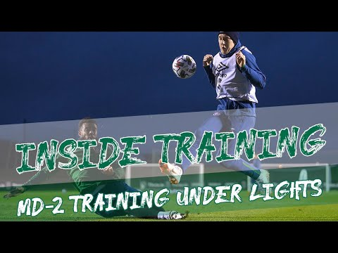 INSIDE TRAINING | Bulgaria preparations under the lights in Dublin