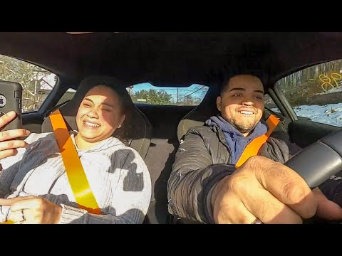 DIY GANG FAMILY REACTS TO CRAZY TEST DRIVE!  Hilarious!