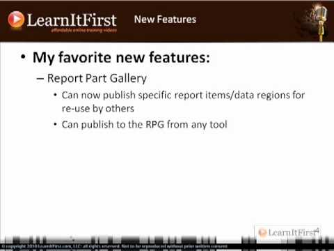 New Features In SQL Server 2008 R2 Reporting Services