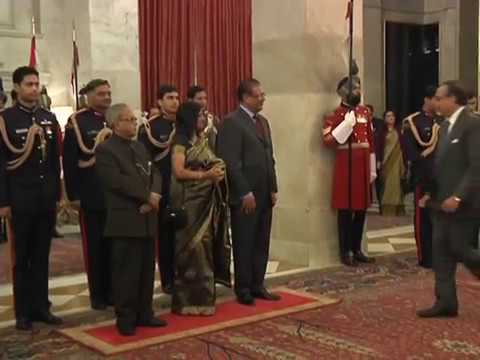 President of the Republic of Mauritius calls-on the President - 04-01-13