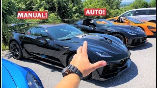 UPDATE On the ZR1 I Got SCAMMED On... This Guy BOUGHT IT!!! *Auto vs Manual ZR1!*