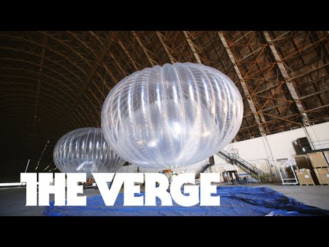 Inside Google's wildly ambitious internet balloon project