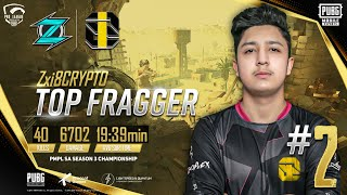 PMPL SOUTH ASIA CHAMPIONSHIP #2 TOP FRAGGER • HIGHLIGHTS AND EXTENDED KILLS •