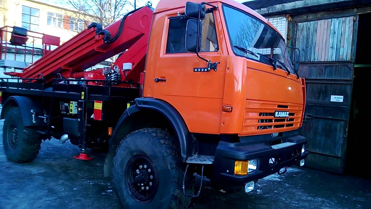 Автогидроподъемник KTR-224.25 на КамАЗ-4326