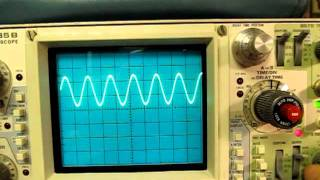 Repeat youtube video #11: Tektronix Oscilloscope Triggering controls and their usage