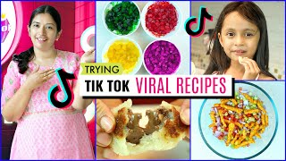 Trying TiKToK Viral Food Recipes | CookWithNisha