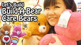 Let's Build Build-A-Bear BAB Care Bears - Cheer Bear & Tenderheart Bear!!