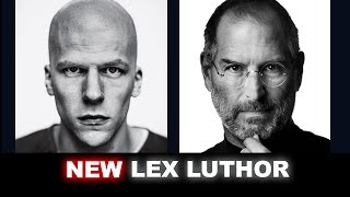 Jesse Eisenberg as Lex Luthor - FIRST LOOK - Beyond The Trailer