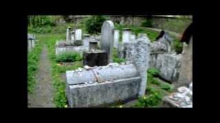 Kraków  , Jewish Cemetery  1800,Walking Tour   Dark Sanctuary  '' Miserere''