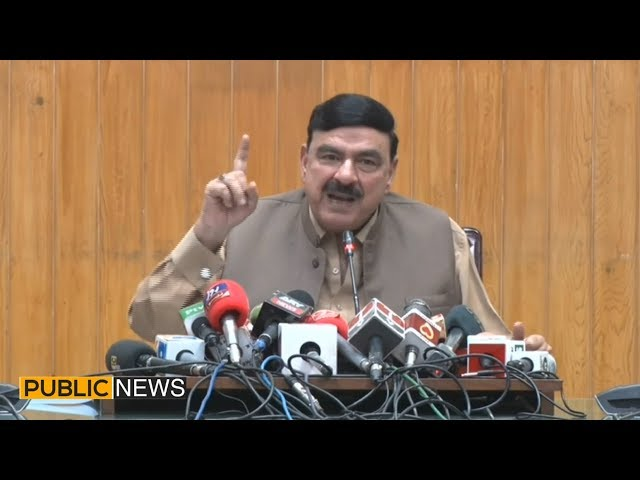 Sheikh Rasheed Complete Press Conference today   24 April 2019