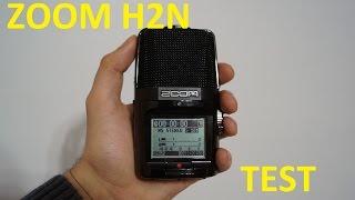 Обзор диктофона (рекордера) Zoom H2n и аксессуаров к нему + тест звука (Unboxing and test)