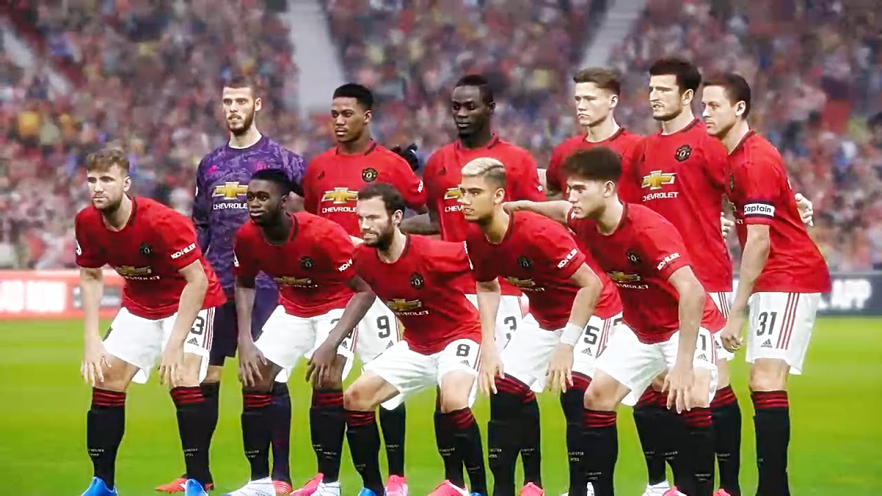 Pes 2020 Manchester United Vs Watford Gameplay Pc Hd Youtube