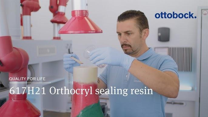 617H21 Orthocryl sealing resin | Ottobock - YouTube