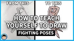 How to Teach Yourself to Draw: Fighting Poses