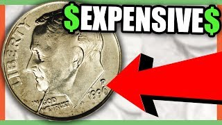 10 RARE DIMES WORTH MONEY - VALUABLE DIMES TO LOOK FOR IN YOUR POCKET CHANGE!!