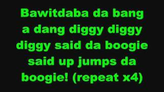 Kid Rock - Bawitdaba Lyrics