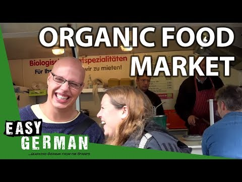 At the organic food market | Easy German 106