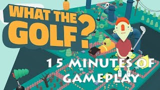 What The Golf? 15 Minutes of Gameplay on Apple Arcade