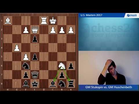 GM Stukopin vs. GM Huschenbeth U.S. Masters 2017