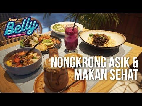 Brilio Belly #03 - PISH & POSH | Nongkrong Asik Sambil Makan Sehat