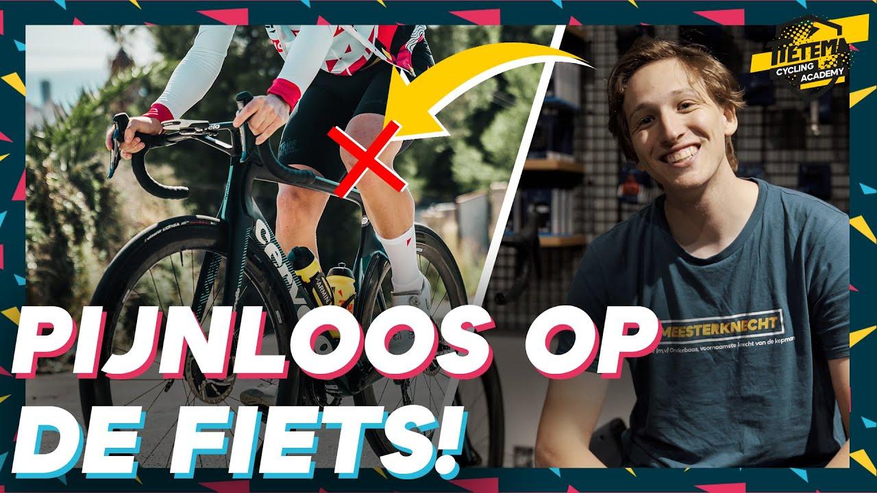 Download FIETSEN ZONDER PIJNTJES, ZO DOE JE DAT! | Tietema Cycling Academy