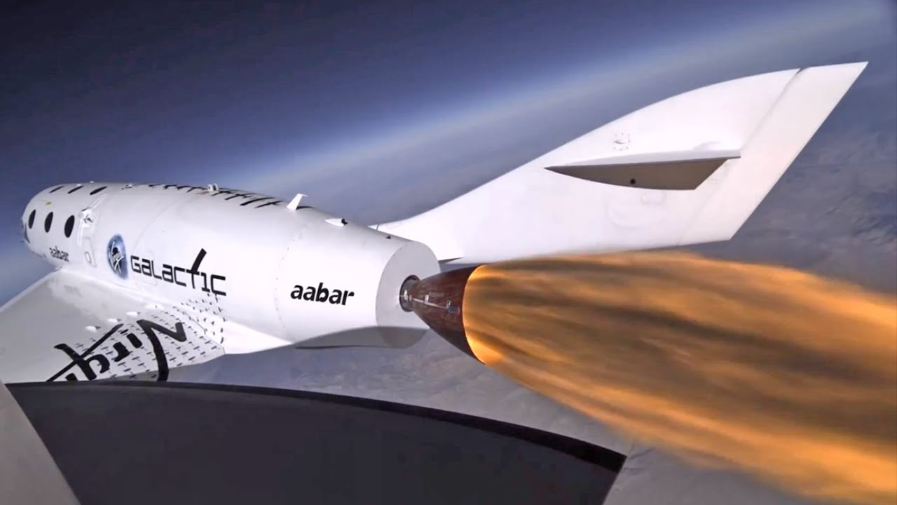Virgin Galactic SpaceShipTwo Crash - Spacecraft Explosion