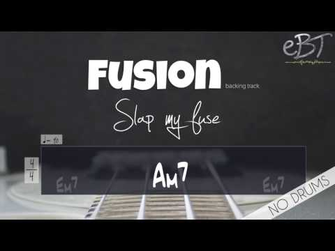 FUSION STYLE BACKING IN E MINOR!! [NO DRUMS]