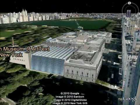 Art Museums 3D Tour in Google Earth.avi