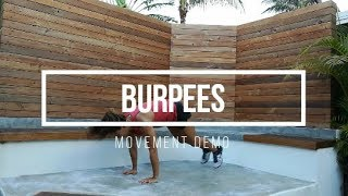 Burpees // FIT Happy Hour Movement Demo