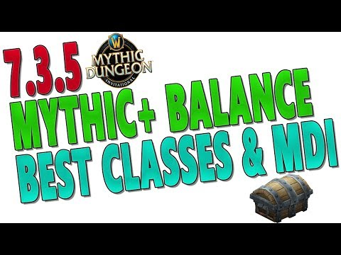 7.3.5 Mythic+ Discussion | M+ Balance & Best Classes/Specs | Mythic Dungeon Invitational | WoW Cast