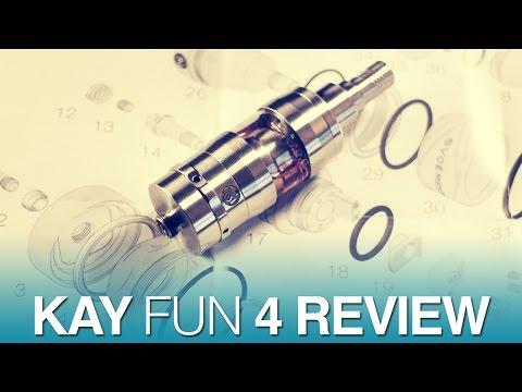 Daily Vape TV- Kay Fun 4 Review & Build