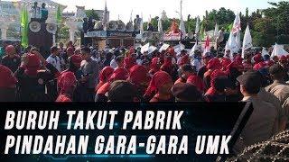 Selisih UMK di Jatim Beda Jauh, Buruh Demo ke Kantor Pemprov Jatim