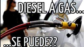 Podemos Convertir motor diesel a Gas?