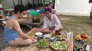 sunaree-สุนารี-กินข้าวก่อนกลับกรุงเทพ