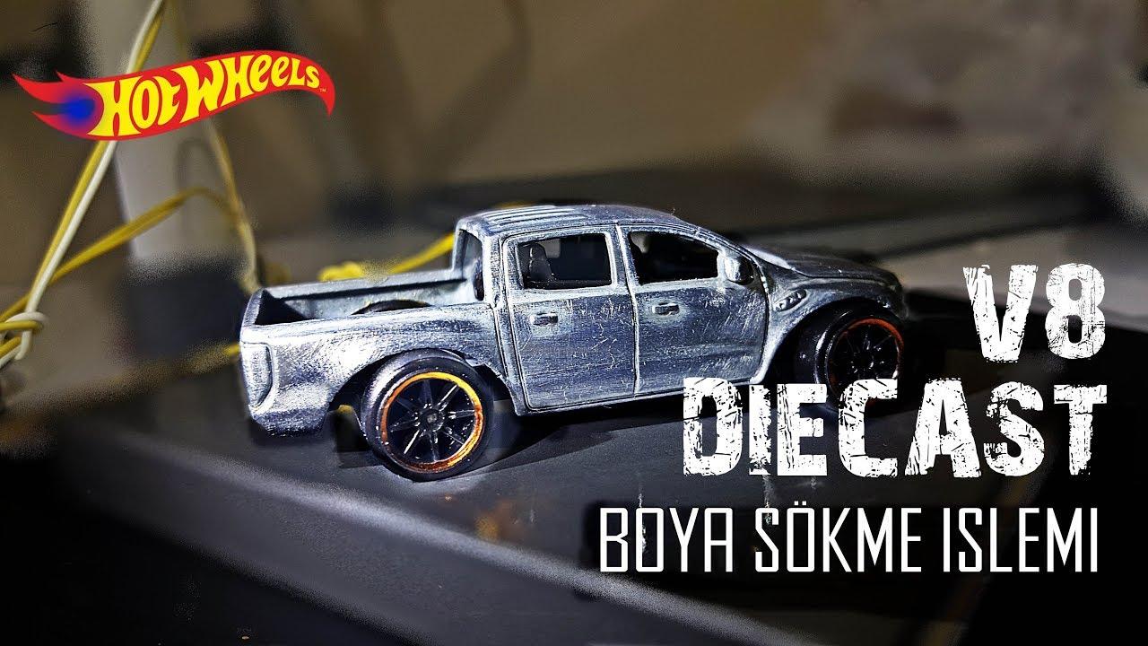 Diecast Arabadan Boya Sokme Hot Wheels Boyama Yeni Boyaya