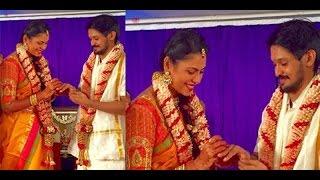 Actor Nakul - Shruti Bhaskar Engagement held today