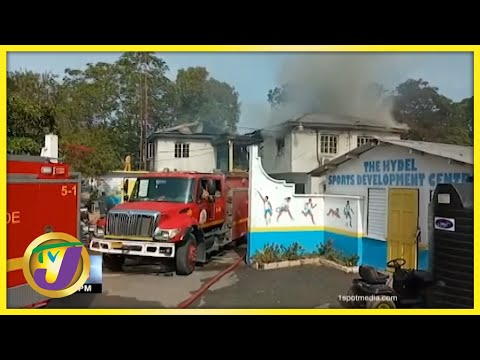 Fire Destroys Section of Hydel School in Jamaica | TVJ News - July 22 2021