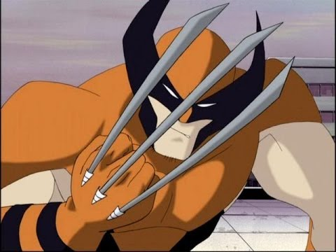 X Men Evolution Wolverine Vs Sabertooth Voice Over Youtube