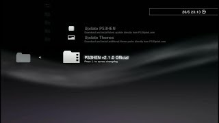 Update PS3 HEN V2.1.0 via Online