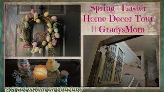 Spring   Easter Home Decor Tour | 2016 Edition || Gradysmom