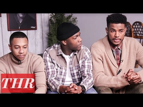 Lakeith Stanfield, Nnamdi Asomugha & Natalie Paul Discuss 'Crown Heights' | Sundance 2017