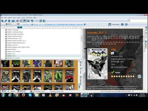 I use CLZ Comic Book Software Organizer