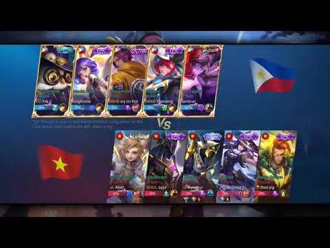 NEW SKIN Ling Philippines vs Vietnam No.1 Helcurt ...