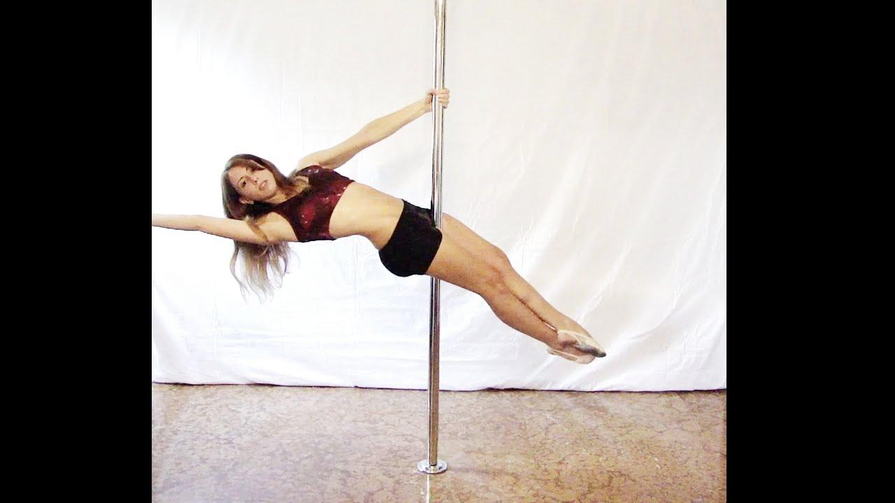 Pole dance tutorial beginners #4: Layout (online free ...
