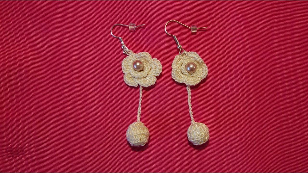 Como hacer pendientes o aretes tejidos a crochet paso a - Hacer armario empotrado paso paso ...